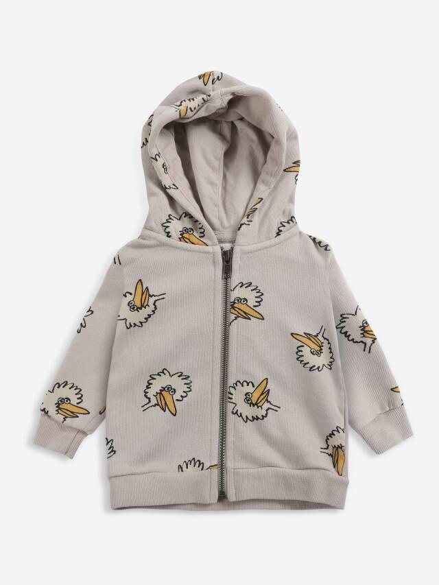【BOBOCHOSES】Drop1/221AB044 Birdie All Over zipped hoodie BABY