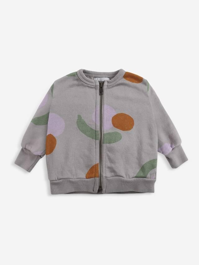 【BOBOCHOSES】Drop1/221AB045 Fruits All Over zipped sweatshirt BABY