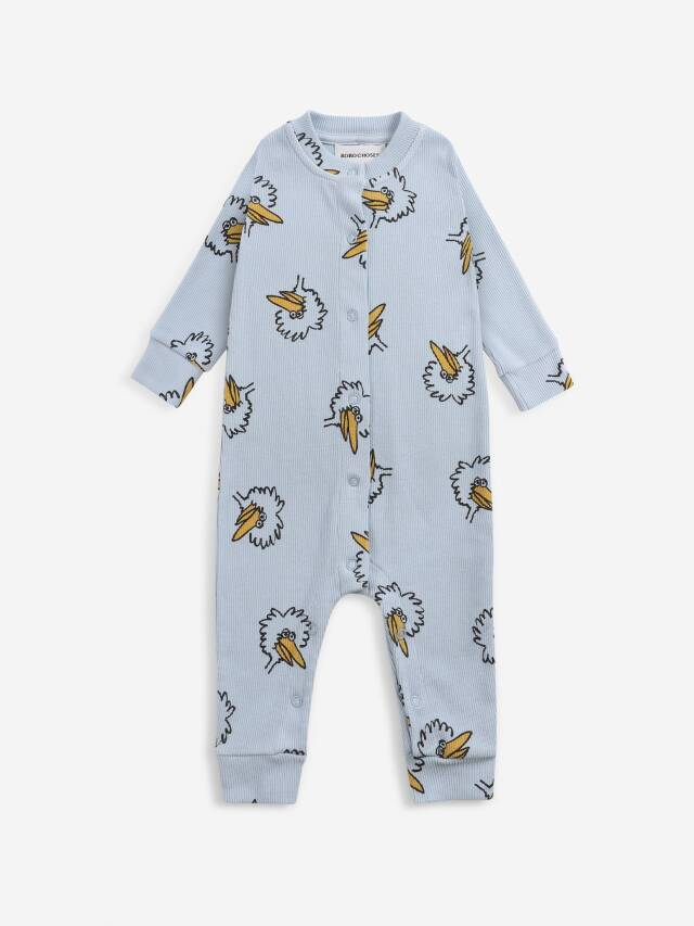 【BOBOCHOSES】Drop1/221AB059 Birdie All Over overall BABY