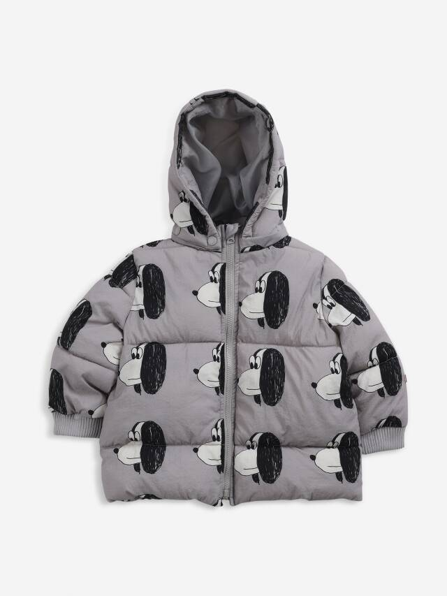 【BOBOCHOSES】Drop2/221AB090 Doggie All Over anorak