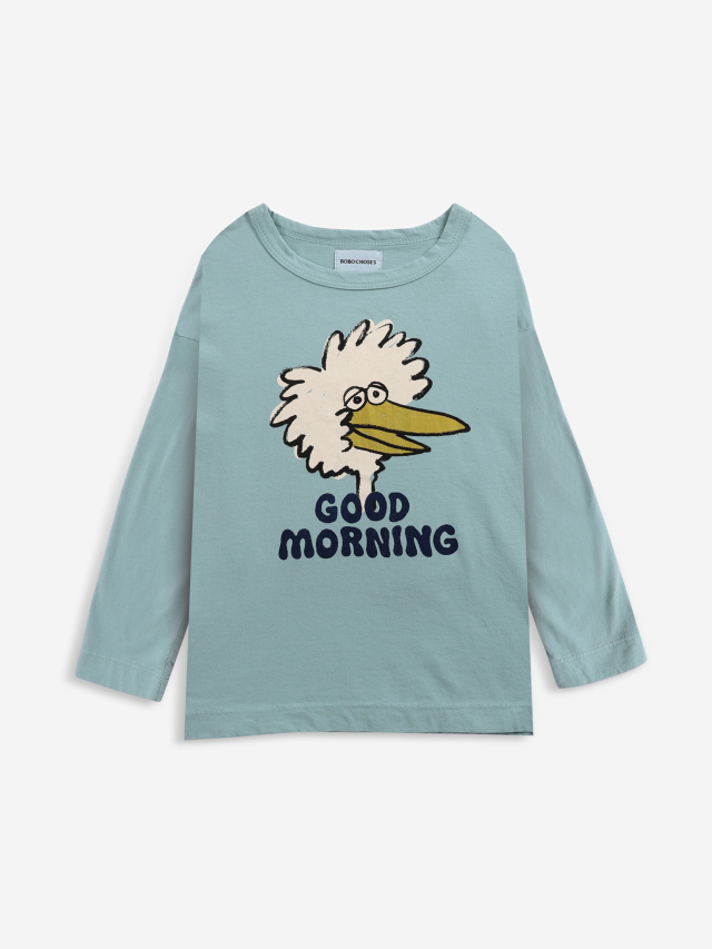【BOBOCHOSES】Drop1/221AC006 Birdie long sleeve T-shirt KID