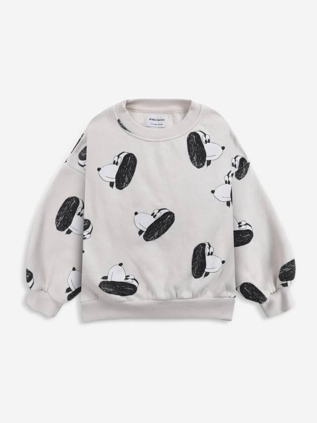 【BOBOCHOSES】Drop1/221AC026 Doggie All Over sweatshirt KID