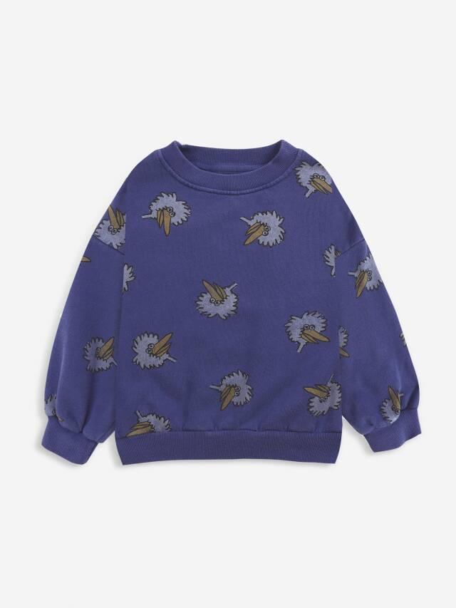 【BOBOCHOSES】Drop1/221AC039 Birdie All Over sweatshirt KID