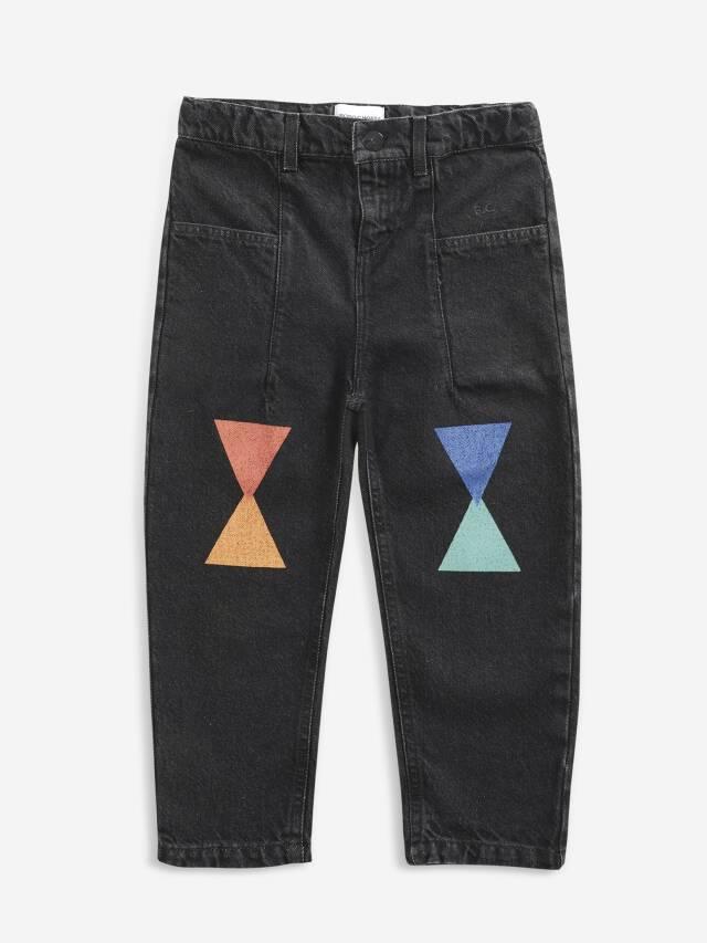 【BOBOCHOSES】Drop2/221AC087 Geometric denim pants