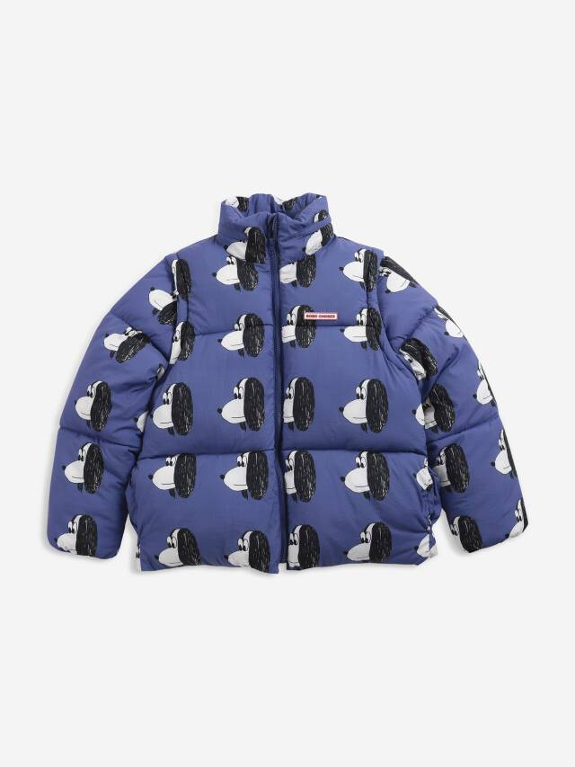 【BOBOCHOSES】Drop2/221AC122 Doggie All Over Recycled PAdded jacket
