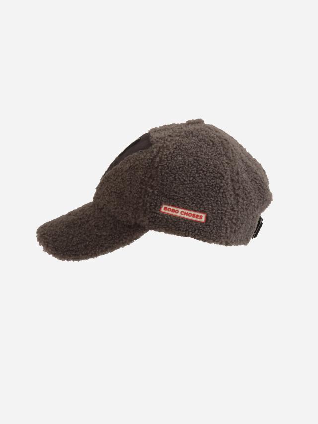 【BOBOCHOSES】Drop2/221AI011 Dog sheepskin cap