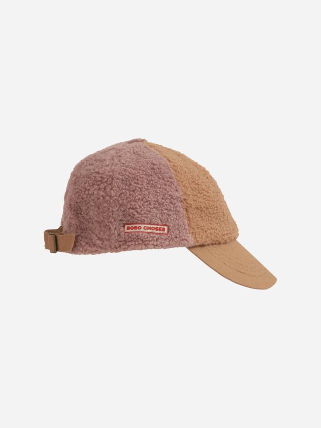 【BOBOCHOSES】Drop2/221AI012 Color Block sheepskin cap