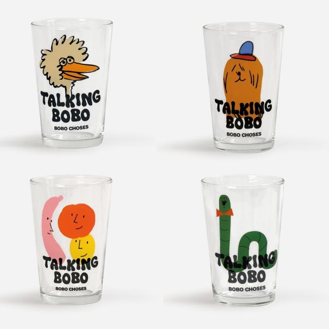 【BOBOCHOSES】Drop2/221AU003 Talking Bobo glass set