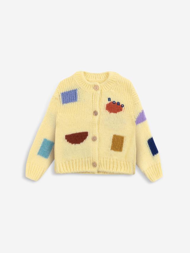 【BOBOCHOSES】「FUN コレクション」221FB003 baby Cardigan