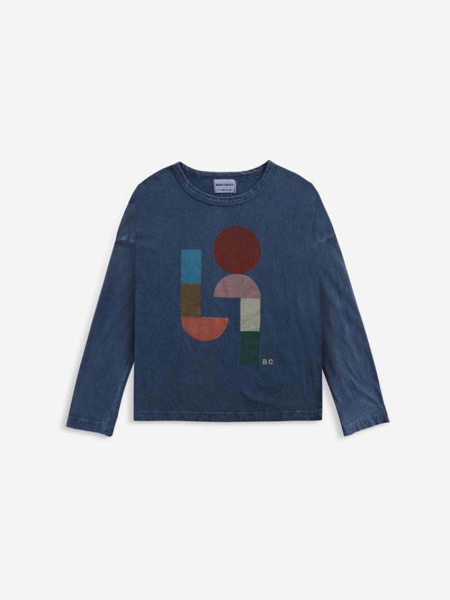 【BOBOCHOSES】「FUN コレクション」221FC001Long sleeve T-shirt