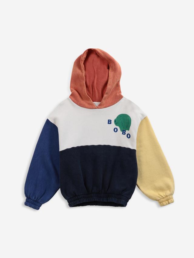 【BOBOCHOSES】「FUN コレクション」221FC004 Hooded sweatshirt