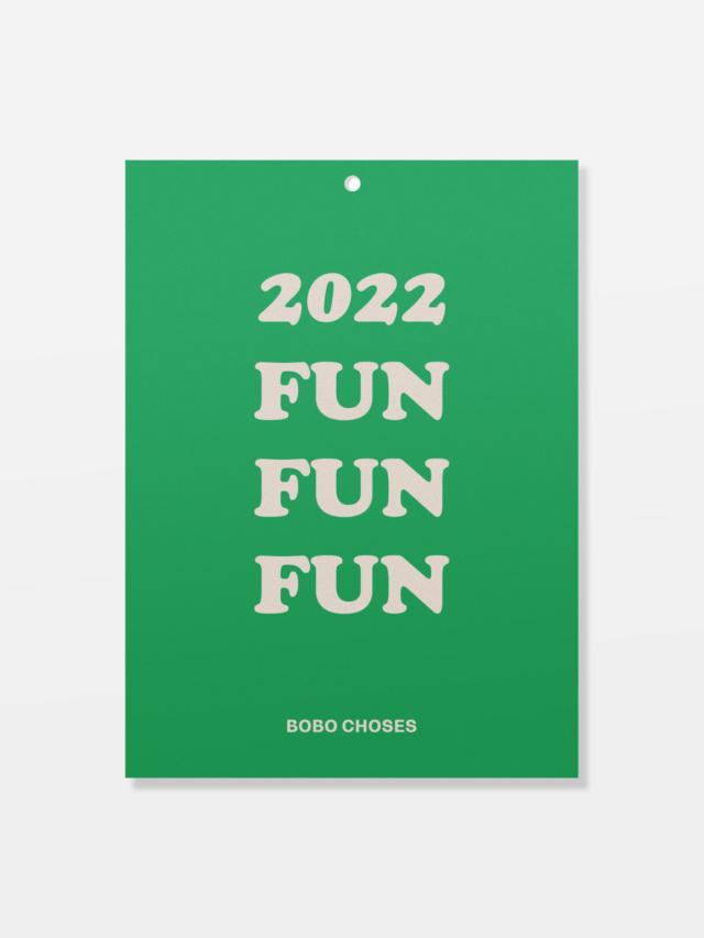 【BOBOCHOSES】「FUN コレクション」221FU003 Coloring カレンダー
