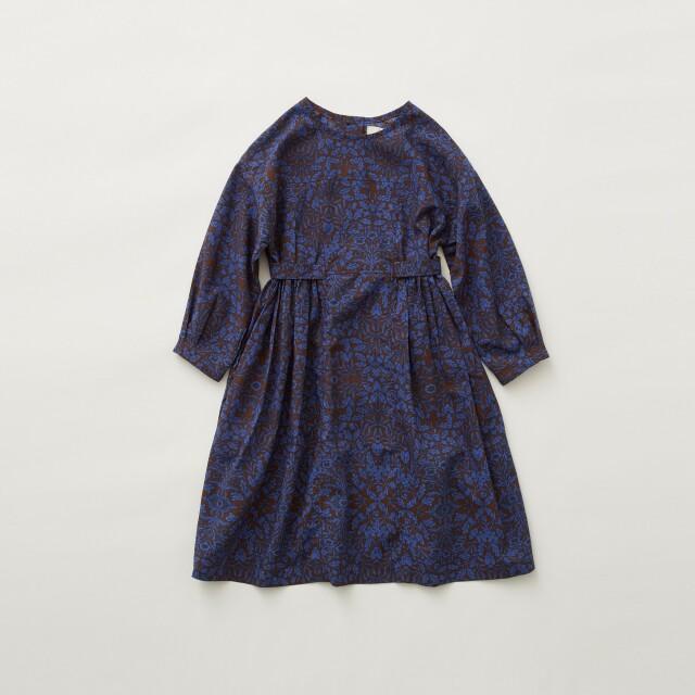 【eLfinFolk】Luminous flower  dress blue
