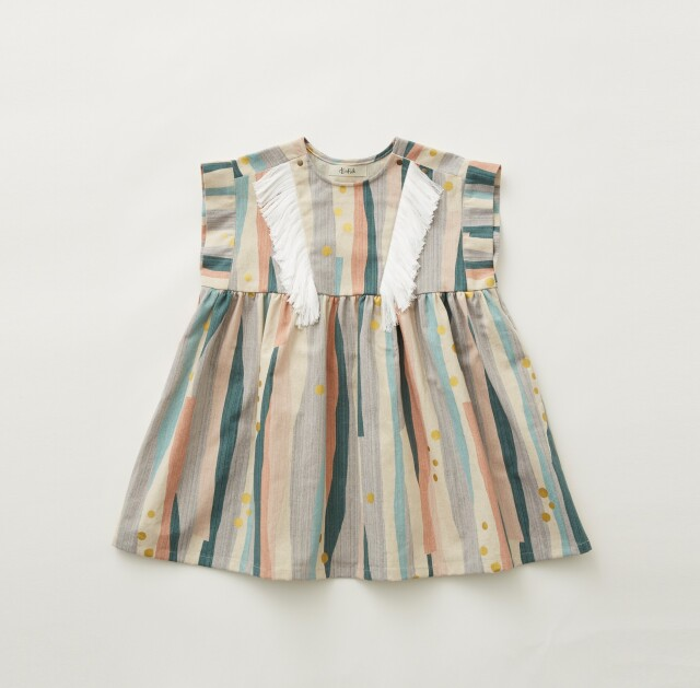 【eLfinFolk】Crambon stripe dress