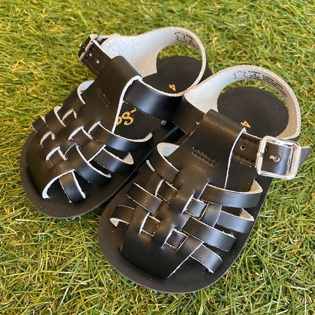 【Salt Water Sandals(ソルトウォーターサンダル)】ベビー・Sailor/Black黒