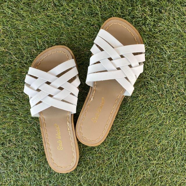 【Salt Water Sandals(ソルトウォーターサンダル)】Retro (Women)/White白/22.9cm~25.1cm