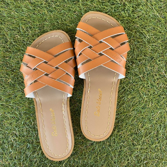 【Salt Water Sandals(ソルトウォーターサンダル)】Retro (Women)/Tan茶/22.9cm~25.1cm