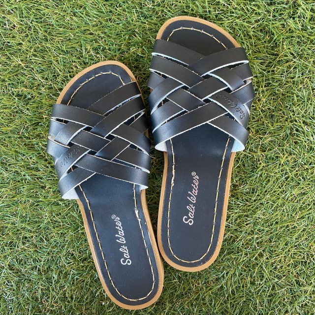 【Salt Water Sandals(ソルトウォーターサンダル)】Retro (Women)/Black黒/22.9cm~25.1cm