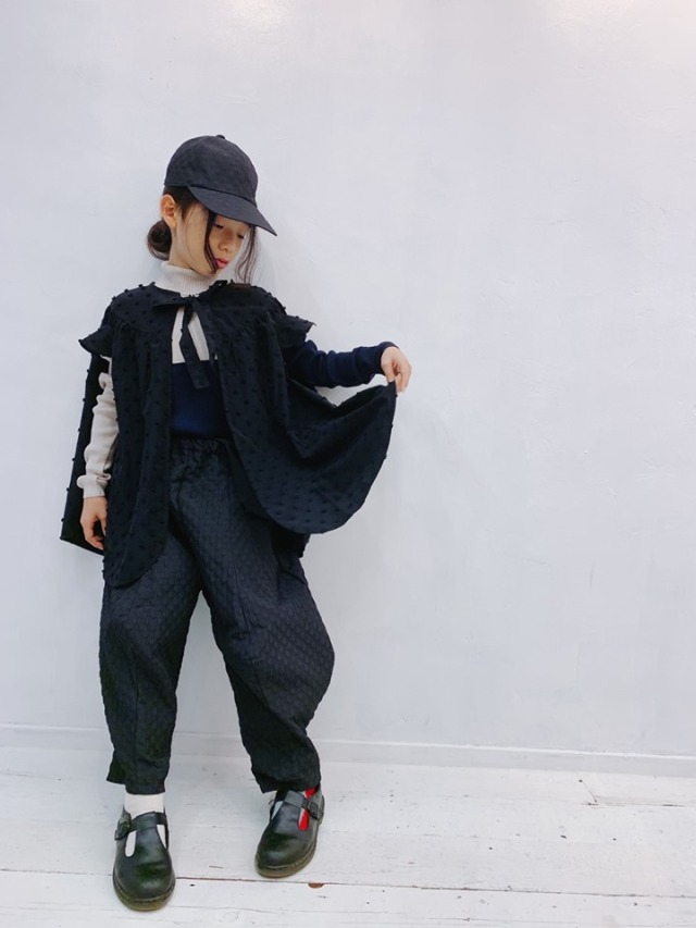 【frankygrow】限定/BONBON CUT JQ PONCHO CAPE/S~LL