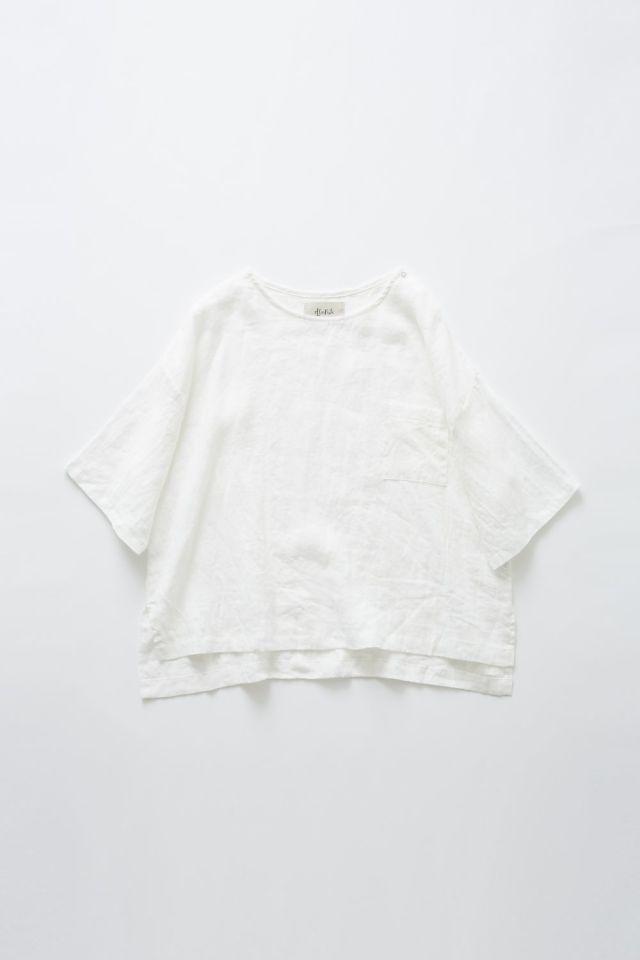【eLfinFolk】elf-191F50 linen T-shirts