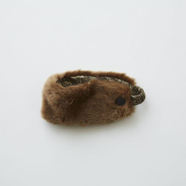 【eLfinFolk】elf-192A39 fur turban by CA4LA×eLfinFolk