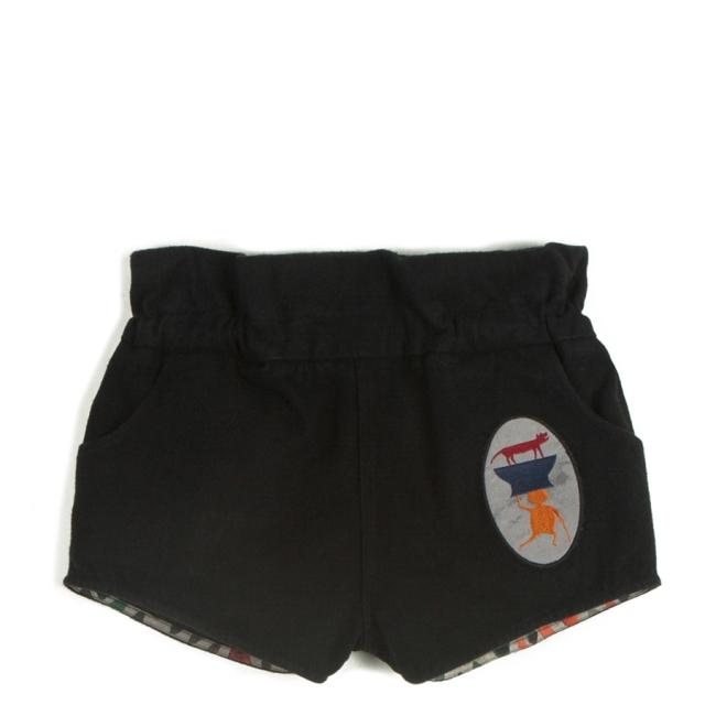 【WOLF & RITA】Shorts/ADOLFO DENIM BLACK