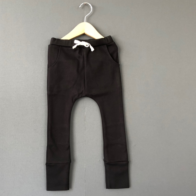 【arkakama】AKL00012/Sarouel Leggings/BLACK
