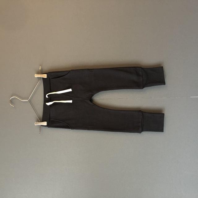 【arkakama】AKL00012 SPD Sarouel Leggings BLACK