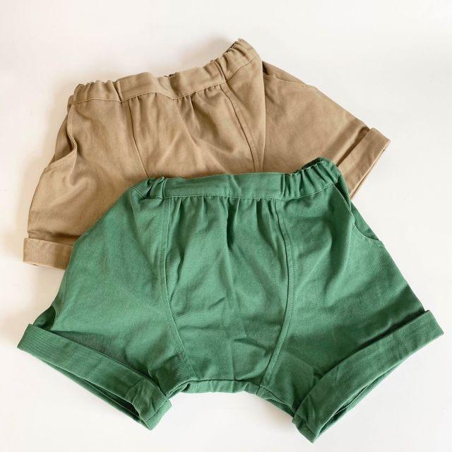 【arkakama】AKL00021/Twill Sarouel Shorts