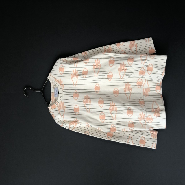 【arkakama】AKT00038-20aw SPD L/S Sweatshirt E.LOOKING.T