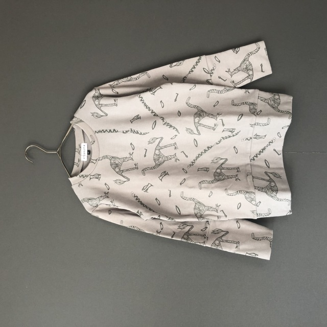 【arkakama】AKT00038-20aw SPD L/S Sweatshirt LOST