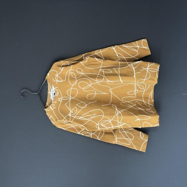 【arkakama】AKT00038-20aw SPD L/S Sweatshirt NOISE