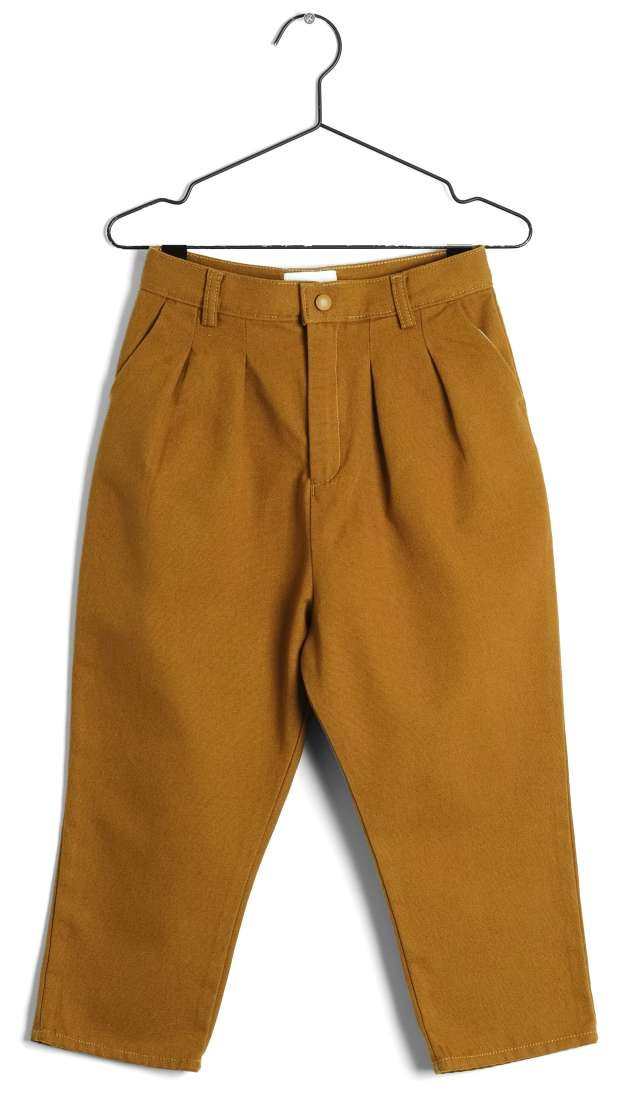 【WOLF & RITA】WRAW19ANDMO ANDRE-TROUSERS/MOSTARDA