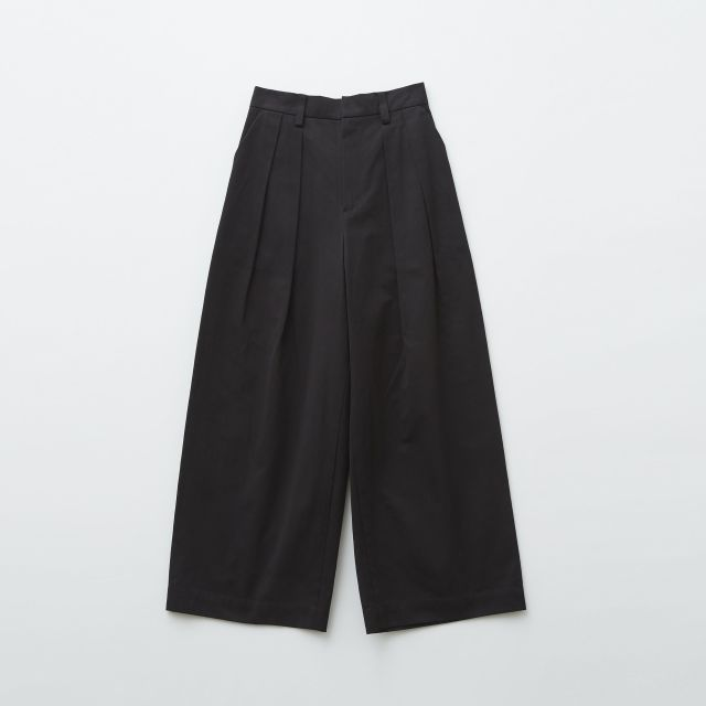【eLfinFolk】elf-192F55 chino cloth wide pants