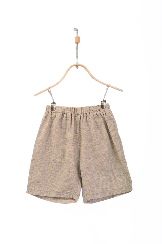 【DONSJE】Evan Shorts Toffee Cotton