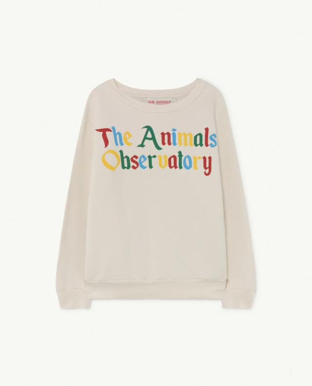 【THE ANIMALS OBSERVATORY】BEAR KIDS+ SWEATSHIRT col009