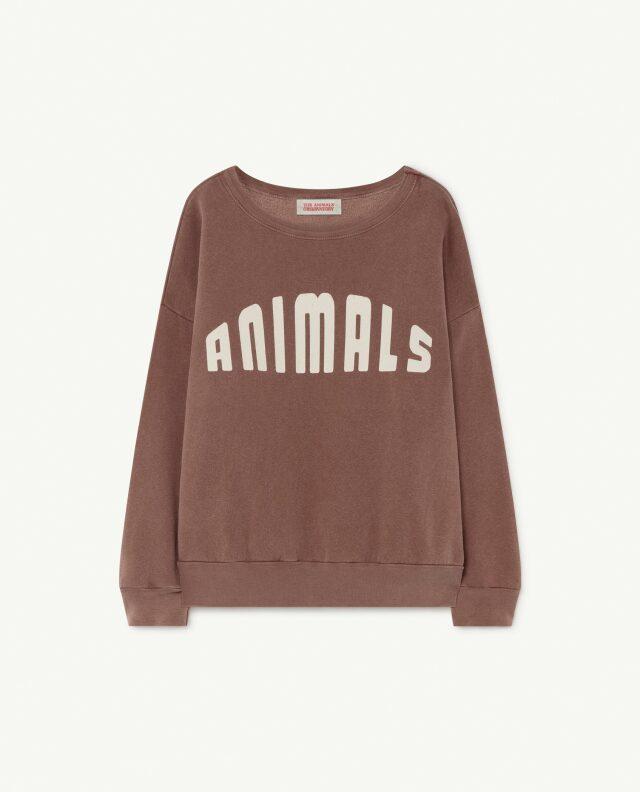 【THE ANIMALS OBSERVATORY】BIG BEAR KIDS SWEATSHIRT col093