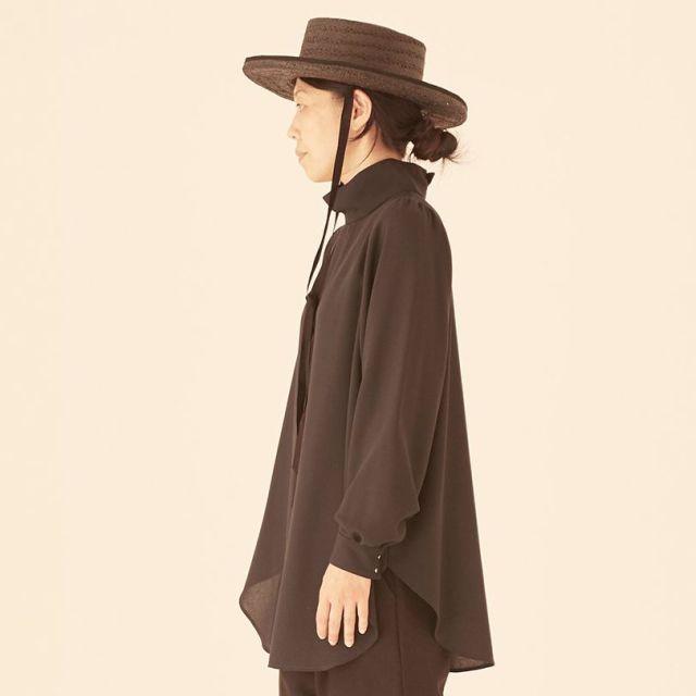 【eLfinFolk】elf-201F61 high neck blouse