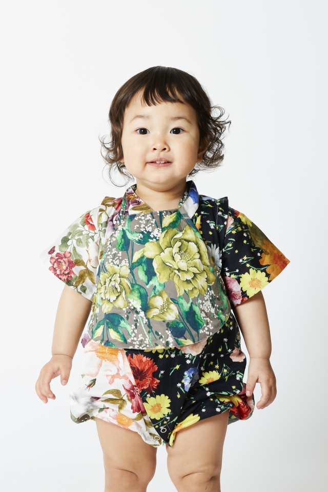 【WOLF & RITA】JINBEI FLOWERS/baby