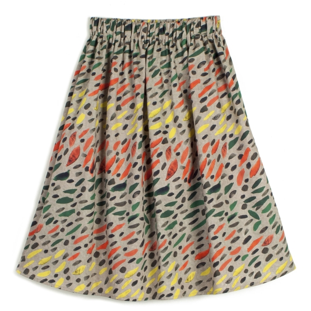 【WOLF & RITA】Skirt/LURDES WINTER GRASS