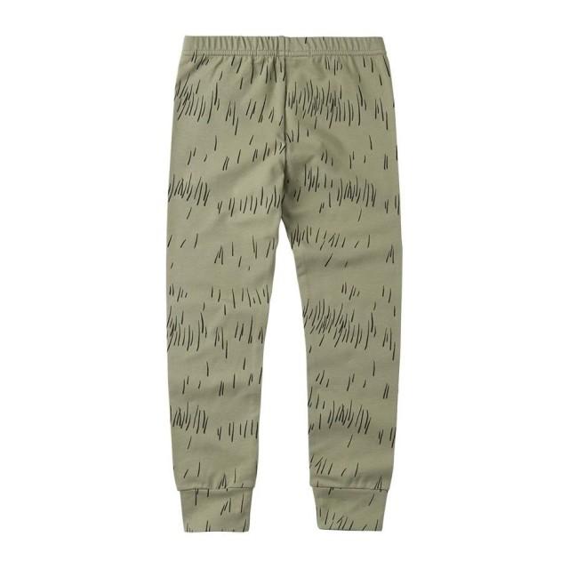 【MINGO.】MI2000033A1 Legging /Grass Print Oak