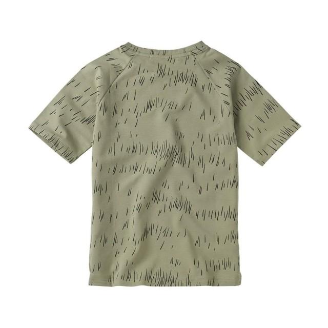 【MINGO.】MI2000702A1 T-shirt/Grass Print Oak