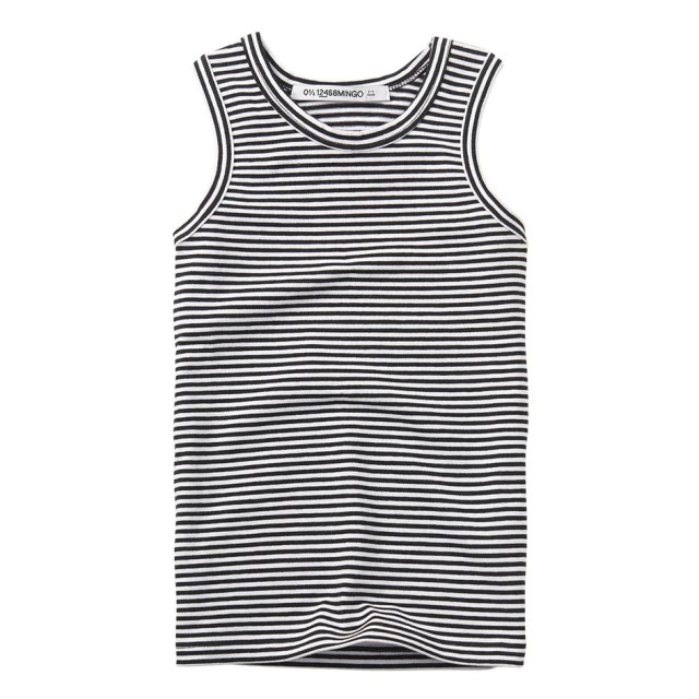 【MINGO.】MI2000822A1Singlet Basics/Stripes