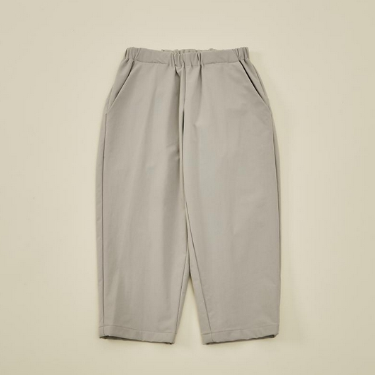 【MOUNTEN.】double cloth stretch pants  [21W-MP19B-1025a]