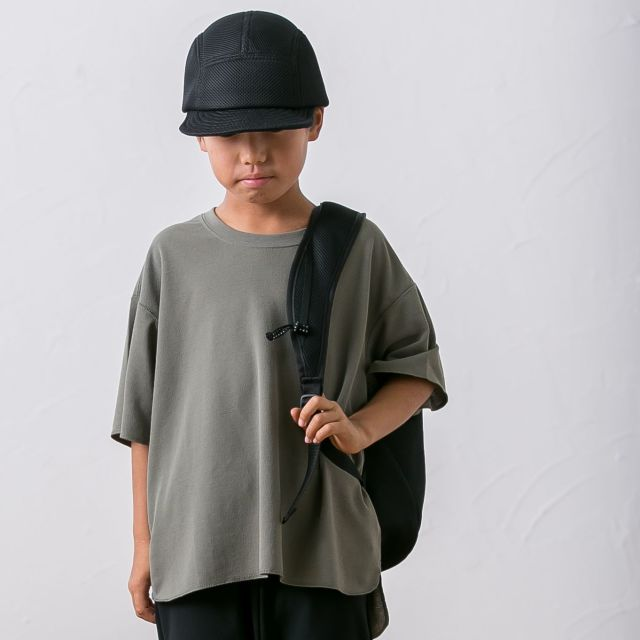 【MOUNTEN.】MT20101 seed stitch T/キッズ