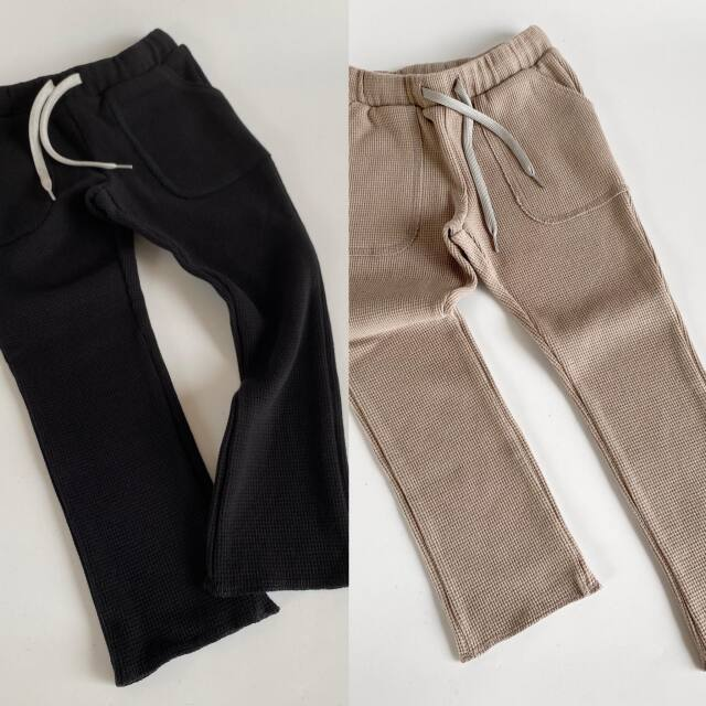 【MOUNTEN.】MT202014-a stretch thermal pants キッズ95 110 125 140