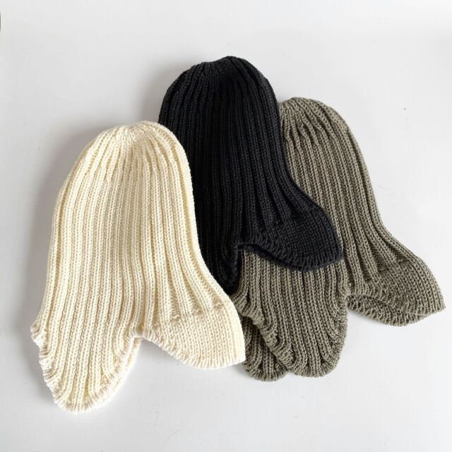 【MOUNTEN.】MT202019 knit flight cap