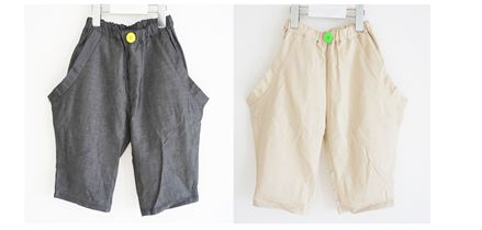 【frankygrowフランキーグロウ】19SBT-219/OVER POCKET DENIM HALF PANTS