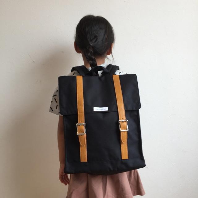 【ソウルフード/chocolatesoup】BIG SQUARE LESSON BAG