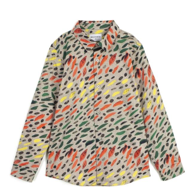 【WOLF & RITA】Shirt/ROBERTO WINTER GRASS